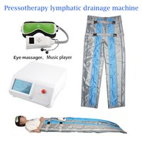 وصول جديد ضغط الهواء التخسيس آلة Pressotherapy العضلات الحد من السيلوليت تدليك اللمفاوي تشكيل الصرف الجسم