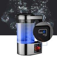 Im Jahr 2020 machen die neue handelsübliche Edelstahl 2L wasserstoffreichen Flasche alkalischen lonengenerator Maschinenwasserfilter Getränke Wasserstoff-Wasser