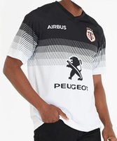 2020 Toulouse Home Rugby Jersey Toulouse Rugby Jerseys League Jersey Team 19/20 Toulouse Rugby Jerseys Size S-3XL (يمكن طباعة)