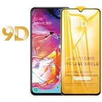 9D pleine colle en verre trempé garde Protecteur pour Samsung Galaxy A21S A01 CORE A11 A21 A31 A41 A51 A61 A71 A81 A91 M01 M11 M21 M31 M51