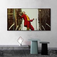 Salon Ev Dekorasyon Cuadros için Duvar Resimleri Boyama Joaquin Phoenix Joker Film Afiş Baskılar Modern Duvar Sanatı Tuval Sanat