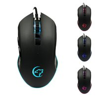 YWYT Professionelle 3200 DPI Gaming Mouse 6 Tasten LED-optische USB-Gaming Mäuse Gaming Computer-Maus für Pro PC Gamer Maus DHL