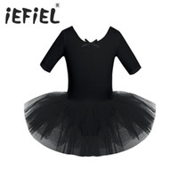 iEFiEL Lovely Baby meninas miúdos Dancewear Ginástica Tutu Ballet Dança Leotard Traje Crianças Meninas Ballet dança vestido desempenho