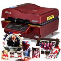 Envío gratis Promoción ST-3042 Máquina de prensa de calor de vacío 3D 3D Máquina de sublimación 3D para cajas de teléfono / tazas / placas / gafas / roca