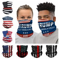 La bandera americana 3D Impresión Digital Máscara Mágica Bufanda de ciclo mágico de Headwear turbante de moda collar partido Riding Suministros RRA3376