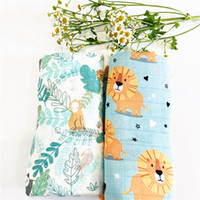 Одеяла Swaddling x 120см Baby Booklet Хлопок Муслиновая пелена, качество, лучше, чем Aden Anais Ванной полотенце