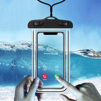 IP68 العالمي للماء الهاتف إثبات حالة المياه حقيبة الهاتف المحمول غطاء الحقيبة PV فون برو 11 إكسس ماكس XR X 8 7 سامسونج S10