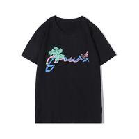 Lettre d'été populaire Imprimer T-shirts Hommes Femmes Refroidir à manches courtes 2 couleurs de haute qualité T-shirt classique élégant T-shirts Tops S-2XL