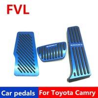 pédales de voiture pour Toyota Camry 2018 2019 2020 Pédale d'accélérateur Pédale de frein Pédale Repose-pieds
