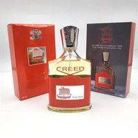 뜨거운 판매 새로운 creed eau de parfum 향수 100ml 오래 지속되는 남성을위한 높은 향수 고품질 남성 파푸넘 주식