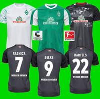 S-3XL 20 21 SV Werder Brema Terzo Soccer Jerseys 2019 2020 2021 Black Klaassen Füllkrug Bittencourt Raska Pizarro Camicie da calcio