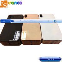 Migliore qualità per l'iphone 8 8plus X XR XS XS MAX di vetro posteriore Medio Telaio porta Telaio Integrale Housing Flex Battery Cover Cable Assembly