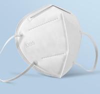 KN 95% Фильтр маска многоразового дыхания Респиратора клапан 5 слой Защитных масок маски конструктора для взрослых Моды черного Face Shield DHL корабль