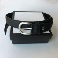 3.8 cm larghezza mens womens cintura grande fibbia liscia cinghia di moda di alta qualità cinture in vera pelle cinture cinture migliori regali