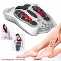 الكهربائية التحكم عن بعد مساج القدم نبض الحرارة شياتسو العجن أقدام الاسترخاء العلاج بالتدليك لتخفيف الآلام أدوات الرعاية الصحية
