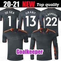 20 21 Torhüter Fussball Jerseys de GEA Martial United Fred 2021 Man B. Fernandes Pogba James Rashford Utd Football Hemd Uniform