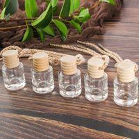 High-end araba aksesuarları parfüm kolye araba monteli şişe boş şişe yaratıcı iç koku-kaldırma uçucu yağ şişesi süsler