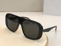 7268 tasarımcı popüler kare kare unisex maskesi basit dikiş tarzı gözlük UV400 koruma en kaliteli gözlük sunglasses