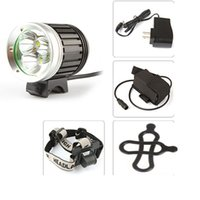 Securitying Sales NEW Waterproof 4 mode 2400 Lumen 3 x XML T6 LED Front Bicycle Bike Light Head Lamp & Headlight Headlamp