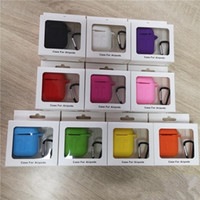 2 in 1 For Apple Airpods Cases Silicone Soft Ultra Thin Prot...