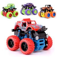 Atalet dört Jant Sürücü Off-Road Araç Otomobil Erkek Çocuk Simülasyon Modeli Araç Anti-Kırılmaz Oyuncak Araba Dublör Araba Oyuncak karşıtı düşen