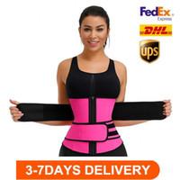 Azionamento degli Stati Uniti, uomini donne shapers a vita cintura per allenatore cintura corsetto pancia dimagrante shapewear a vita regolabile supporto corpo shapers fy8084