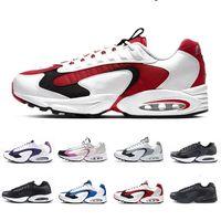 Nike air max 96 airmax 96 shoes 2019 neueste 96 laufschuhe für männer kissen 96s schwarz weiß multicolor billig heißer verkauf herren athletic trainer sport turnschuhe 40-46