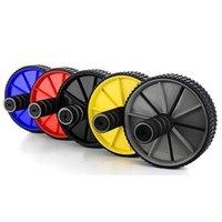Duplo rodas Ab Rolo Multi função Automatic Springback equipamento do exercício reduzir o peso Rollers instrutor cintura colorido Hot Sale 9sy E2
