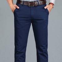 Casual erkek gündelik iş pantolon büyük beden 28 -40 düz pantolon erkek pamuk yüksek kaliteli pamuk fipyjip