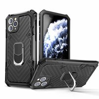 Rüstung Stoß- Designer Telefonkasten für Coque iphone 11 Fall iphone 11 pro max Fall xr Full Cover Car Magnetring Auto Hüllen