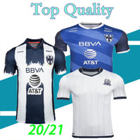 Mexican club Rayados de Monterrey 2020 2021 home away soccer jersey 75th anniversary football shirts Top Thailand quality