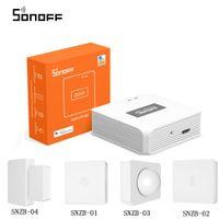 SONOFF Zigbee мост / Wireless Switch / датчик температуры и влажности / датчик движения / Wireless двери окна Датчик Zigbee 3,0