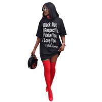 Mode-Buchstabe gedrucktes Sexy Neon-Kleid-Frauen schließen Hülsen-lose Mini-T-Shirt-Kleid-verursachender O-Ansatz plus Größe 4XL Sommer-Herbst Kleid