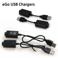 Ego USB carregador longo cabo curto para e cigarro vape bateria ego-c ego-t evod torcer visão spinner baterias 510 rosqueamento