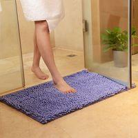 Cómoda antideslizante alfombra de baño, colores del caramelo de la alfombra de cocina, la estera del piso para el hogar de la sala dormitorio, alfombras de baño, niños Felpudo suaves