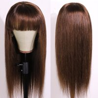 Allove 4 27 4# ginger 350# 27# None Lace Wigs Straight Human...