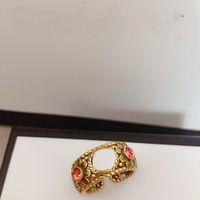 Best selling sellings open size donna anello top in ottone anello in oro anello di forma regolabile da donna