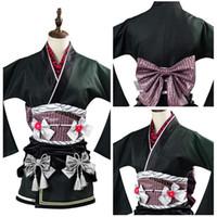 Anime Costumes FF Tifa Lockhart Gown Dress Costume Final Fantasy 7 Remake Exotic Kimono The Honeybee Inn Party Cosplay