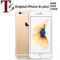 تم تجديد Apple Apple iPhone 6S بالإضافة إلى 5.5 بوصة مع بصمة IOS A9 16/23/64 / 128GB ROM 12MP الهاتف الخليوي مقفلة