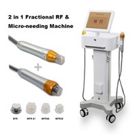 2020 Free shipping Smart Microneedle Machine MFR & SFR Microneedle Facial Treatment with Thermage Handle and Microneedle Handle Scar Removal