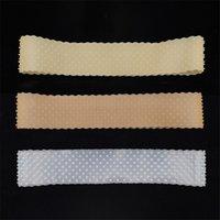 Neue Mode Silikon Stirnband Männer Frauen Fitnessstudio Sportswear Kopf Kopftuch Anti-Slip Elastic Swassband Haarband Zubehör 4 Farben 22 * 4 cm 2020