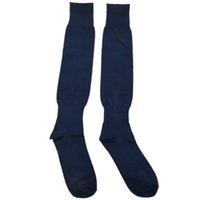 Мужская Спорт Футбол Хоккей Футбол Носки Длинные высокого Носок (темно-синий)
