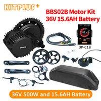 Bafang BBS02B 36V 500W vélo électrique Moteur Ebike Kit avec batterie 15.6AH vélo Mid ebbs02