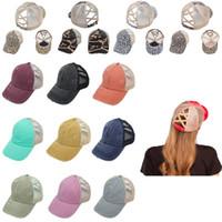 أغطية للرأس الحزب الجديد افتتاح ذيل قبعة هو قديم وكسر حافة قبعة واقية من الشمس قبعة بيسبول ذيل لون الصلبة ليوبارد التمويه سلسلة XD23674