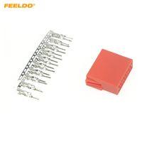 폭스 바겐 아우디 스코다 CD에 대한 FEELDO 자동차 카 오디오 CD 플레이어 커넥터 20PCS 터미널 핀 소켓 / # 1765 DVD DIY 플러그 체인저
