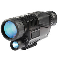 Jagd 5 x 40 Infrarot-Nachtsicht-Jagd-Teleskop-Monokular-Nachtsicht-Infrarot-digitales Scope eingebaute Kamera langer Bereich