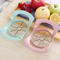 paslanmaz çelik mutfak çoklu kesici alet Uygun Elma Meyve Kesici Küp şeklinde kesme Dilimleme Makinası Çok renkleri gadget'ý LX2579