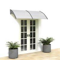 прозрачный навес бытового применения двери окна дождь крышка карнизы моды навес открытых убежищ окна от солнца США акции