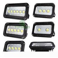 DHL LED Su geçirmez 200W 300W 400W 500W 600W Süper parlak LED Taşkın Işık RGB LED Flood gölgelik Benzin İstasyonu Aydınlatma 888 ışıklar Projektörler