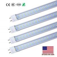 US-Aktien 4ft 1.2m 1200mm T8 t10 t12 führte Schlauch Lichter Hohe super hellen 22W 28W LED-Leuchtstoffröhre Birnen Lampe AC85-277V